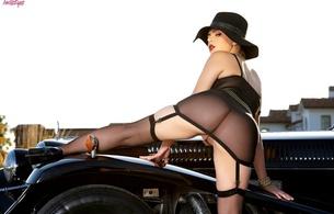 valentina nappi, classic, hat, playboy, outdoors, pussy, black, hot, ass wallpaper