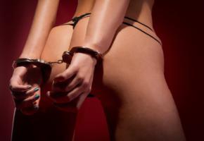 ass, bdsm, butt, handcuffed, handcuffs, sexy, slave, thong
