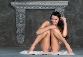 alexandra, brunette, naked, pussy, rihanna, sasha l, sexy, sexy legs, smile