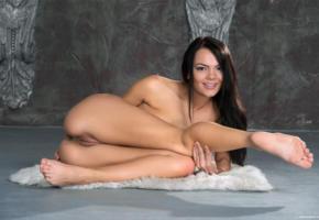 alexandra, ass, brunette, legs, naked, pussy, rihanna, sasha l, sexy