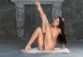 alexandra, brunette, legs, naked, pussy, rihanna, sasha l, sexy, skinny, small tits, tits