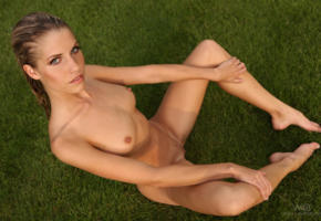 adult model, brunette, iveta b, legs, nude, pussy, shaved pussy, tits