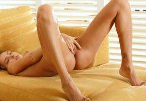 ass, blonde, clover, fingers, katya clover, mango, masturbate, naked, penetration, pussy