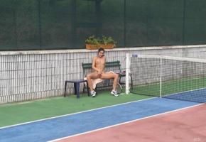 adela, adela u, brunette, fiona, francesca, jana r, leslie, luci, lucie, lucy lea, lucy lee, lucy-lee, nina, noah b, racket, small tits, tennis, tennis racket