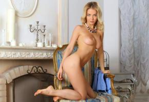 blonde, breasts, armchair, sexy, delilah g, danica, amanda, asya, nude, tits, legs, fireplace, natalia n, annabell, monro, natali andreeva