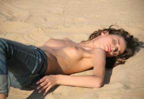 irina b, met art, topless, awesome tits, breast, puffy nipple, naked, jeans, desert, alsu, idonia, irina a, hi-q