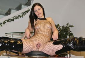 leonielingua, boots, pussy, leonie, fishnet, pvc, bodystocking, piercing, high boots, leonie lingua, german, brunette, amateur, spread wide, cunt, whore, babes in boots, fetish babe