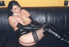 chubby, housewife, amateur, sexy babe, pigtail, sitting, sexy dressed, latex, gloves, pvc, garterbelt, pierced, lingerie, knee boots, fetish babe, homemade, shiny, rubber, fetish, babes in boots