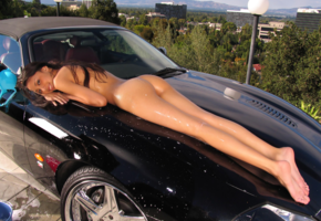 alexis love, ass, wet, legs, car, carwash, sexy legs