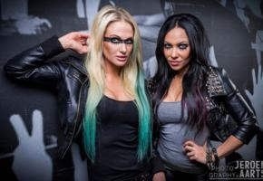 carla harvey, heidi shepherd, female vocal, butcher babies, low quality