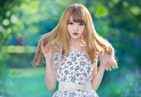 asian, girl, sweet, cute, sensual, long hairs
