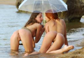 lidiya a, mika a, redhead, beach, 2 of, pussy, clear brolly, lida, lidiya sabadash, ameli, kali, kesia, oxana, roza d, ryisya, sofiya, legs, ass, butt, water, wet, sea, umbrella, belt