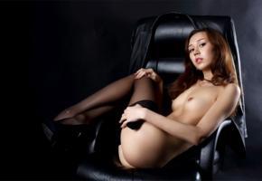 sakura, sexy girl, adult model, nude, naked, stockings, small tits, tits, brunette, nipples, legs, ass, butt, cheeks, jasminne jem