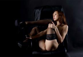 sakura, sexy girl, adult model, nude, naked, pussy, stockings, brunette, legs, ass, butt, cheeks, jasminne jem