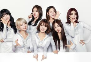 girls, south korean, idol, girl, group, aoa, ace of angels, cute, seven