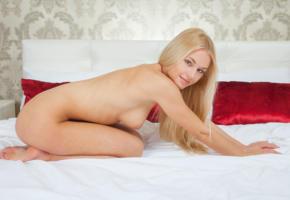 kimberly b, xena, blonde, russian, naked, big tits, bed, pillows, hi-q, boobs, tits