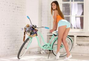 foxy salt, foxy, sexy girl, adult model, sexy legs, non nude, bicycle, shorts, hi-q, sexy, ass wallpaper