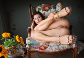 berenice, sexy girl, adult model, nude, naked, ass, pussy, labia, legs