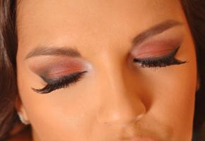 eve angel, face, portrait, eye shadow, eyes