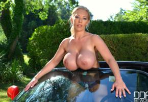 big boobs, huge breast, large breast, busty babe, blonde, delzangel, fake tits, big tits, tits, boobs