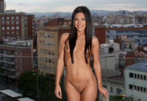 apolonia lapiedra, pussy, shawed pussy, tits, brunette, smile