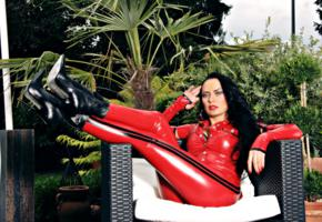 nadja, german, amateur, fetish model, mistress, domina, fetish diva nadja, posing, outdoor, tight clothes, latex, leggings, fingerless, gloves, leather, ankle boots, fetish babe, erotic, red lips, shiny, rubber, fetish