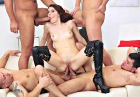 young, brunette, pornactress, leather, overknee boots, sexy, shaved, cunt, abused, whore, groupsex, dick, cock, hardcore, fucked, banged, anal, suck dick, mouthjob, bitch, fetish babe, penis, blowjob, plateau boots, gangbang, babes in boots, greek sex, orgy, anal sex, sex, suck, spreading legs, tits, pussy, shaved pussy, double anal