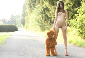 nika, watch4beauty, bear, model, w4b, brunette, natalia lobo, shaved pussy, pussy, boobs, tits, long legs, hi-q