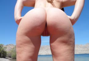 ass, butt, pussy, outdoor, labia, amateur