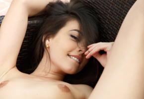 lorena b, metart, brunette, smile, nipples, tits, lorena garcia