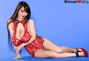 hitomi, pornstar, big tits, melons, mammaries, jugs, japanese, asian, bodyart, hitomi tanaka, boobs, super boobs, heavy artillery, giant tits