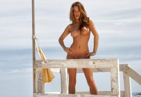 nici dee, nici, nikola, ti sato, beach, naked, big tits, puffy nipples, trimmed pussy, hi-q, tits, boobs, tanned