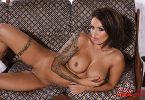gemma massey, hot, brunette, big boobs, tattoo, pussy, spreading legs, big tits, tits, boobs, hard nipples, nipples, shaved pussy
