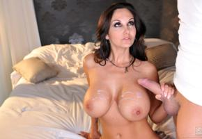 ava addams, big boobs, dick, sexy, cumshot, sperm, cock, big tits, tits, boobs, brunette