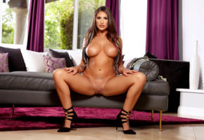 august ames, boobs, spread legs, hot, spreading legs, tits, pussy, tanned, big tits