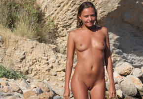 model, brunette, nude, katia clover, tanned, mango a, shaved pussy, pussy, boobs, tits, katya clover, clover, mango, caramel