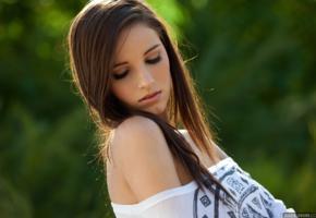 madison morgan, model, brunette, sexy, undressing