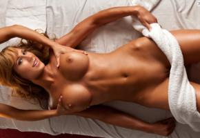 nadia larysa, playboy, nude, busty, shaved, shaved pussy, pussy, tanned, big tits, tits, boobs