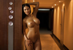 kendra, brunette, boobs, big boobs, naked, nude, hot, sexy, playmate, indoor, big tits, tits, shaved pussy, perfect girl, perfect tits, photodromm, oiled, cathy, eurotica, hi-q
