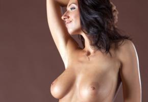 simone b, nadia, kiska, gretta, ella, simona nikolay, brunette, tanned, topless, breasts, boobs, natural tits, big nipples, gorgeous, smile, perfect tits