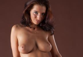 simone b, nadia, gretta, kiska, ella, simona nikolay, brunette, tanned, topless, breasts, tits, big tits, natural tits, all natural, big nipples
