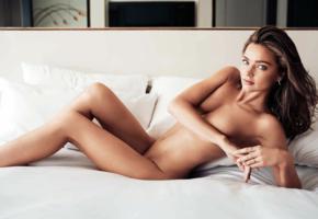 miranda kerr, brunette, sexy, nude, hot