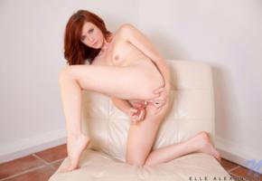 elle alexandra, red hair, sexy girl, nude, naked, tits, pussy, sexy legs, dildo, masturbating, redhead, elle alexandria, elle e