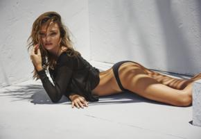 miranda kerr, shirt, panties, tanned, wet hairs, aussie, natural beauty