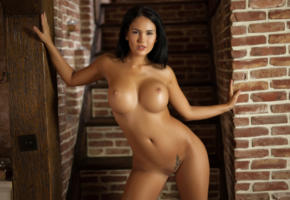 kendra, brunette, boobs, big boobs, naked, nude, hot, sexy, playmate, big tits, tits, shaved pussy, perfect girl, perfect body, photodromm, tanned, cathy, eurotica, shaved