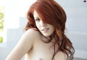 elle alexandra, redhead, closeup, hairs, elle alexandria, elle e