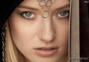 gadriella, blonde, baremaidens, face, sword