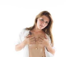 princess, girl, erotic, sexy, handbra, boobs, tits