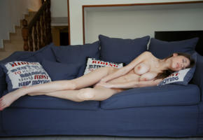 big tits, big boobs, sexy, cute, brunette, mila azul, boobs, skinny, legs