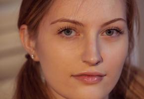 bretona, pigtails, beautiful, face, girl, eyes, lips, perfect girl, beauty